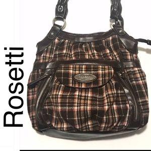 Rosetti Plaid Shoulder Bag
